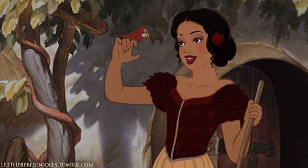 These Disney Princesses Reimagined As Different Ethnicities Are Gorgeous