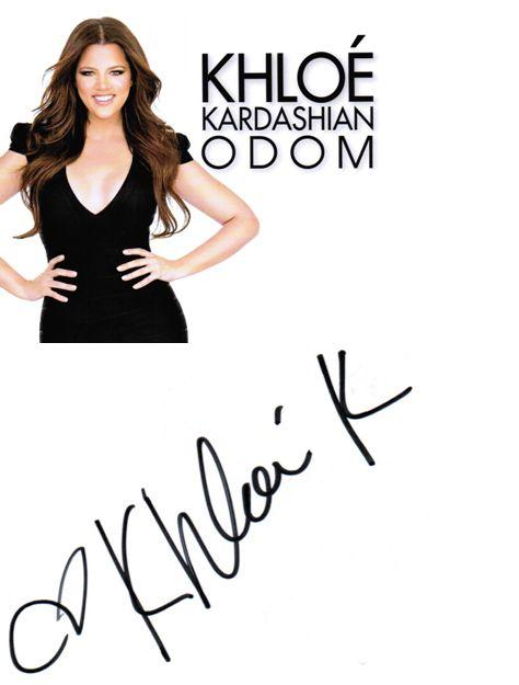 Autograph by Khloe Kardashian Odom