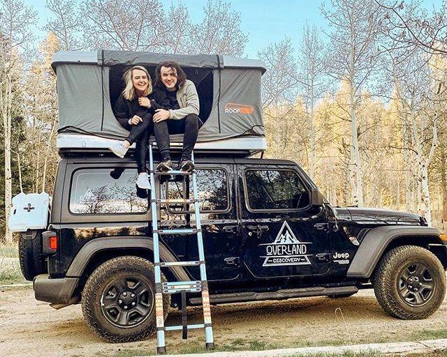 Jeep Campers & Campervan Rentals Denver & Las Vega