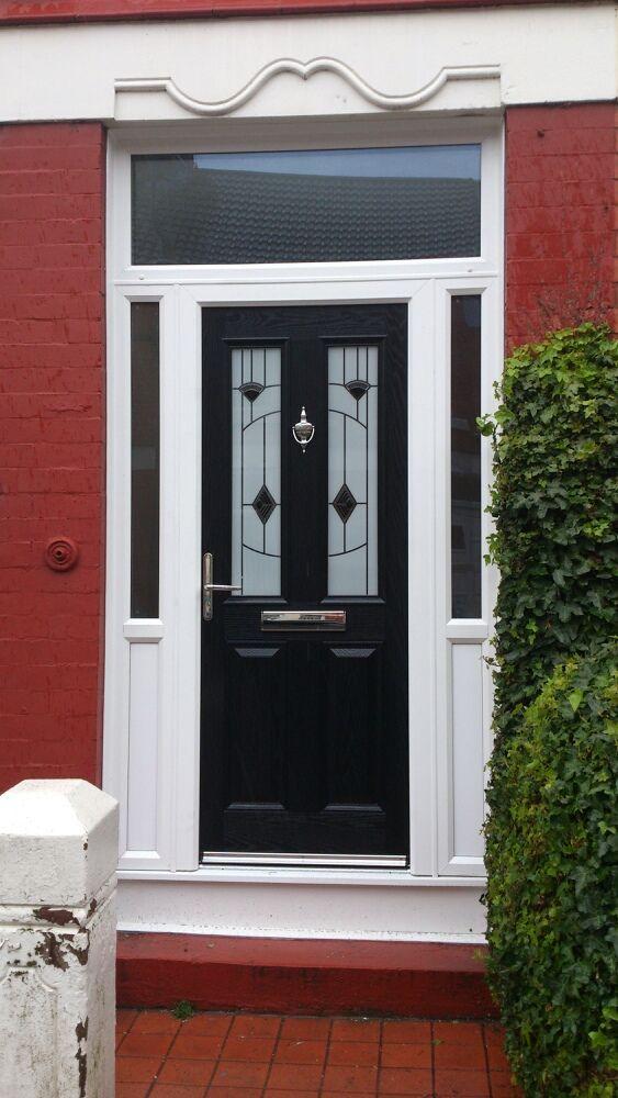 York Luxurty Fused Black GRP Xtreme Door.