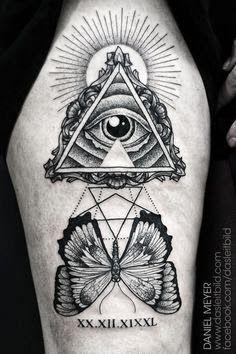 FANTÁSTICO MUNDO DA PRI : olho da providencia - olho que tudo vê - olho do arquiteto tatuagem