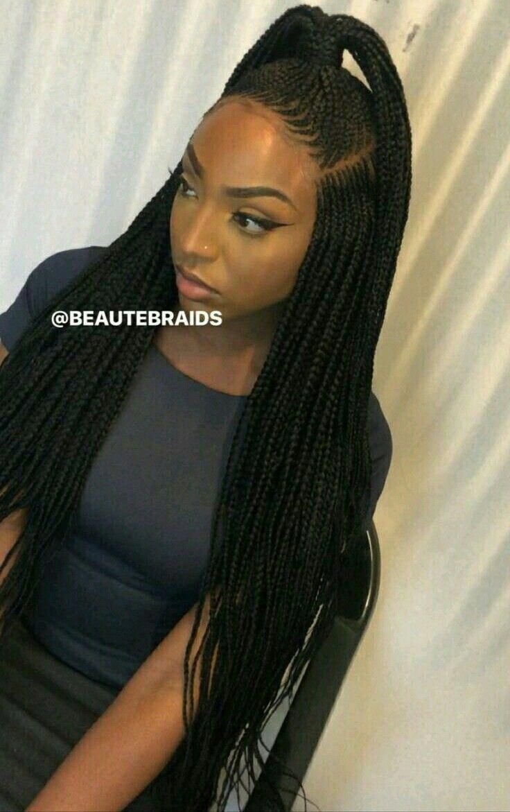 Quick And Easy Braided Hairstyles Black Braidedhairstyles With