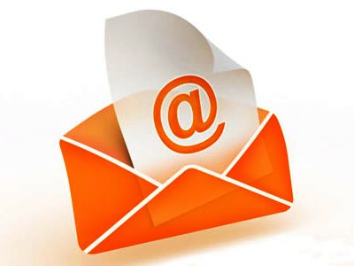 You may receive an email from an unfamiliar source - www.emailfinderusa.com/reverseemail.html