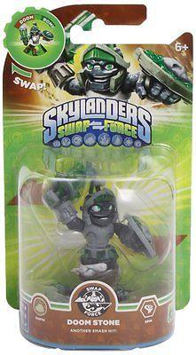 Skylanders Swap Force Doom Stone Character Figure Damaged Box