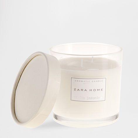 Zara Jasmine candle