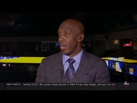 Chauncey Billups Talks About the Cavs Defense in Game 2 | LIVE 6-4-17 - YouTube