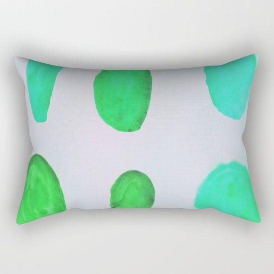 Color Test II Rectangular Pillow