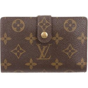Pre-owned Louis Vuitton Monogram French Purse Wallet