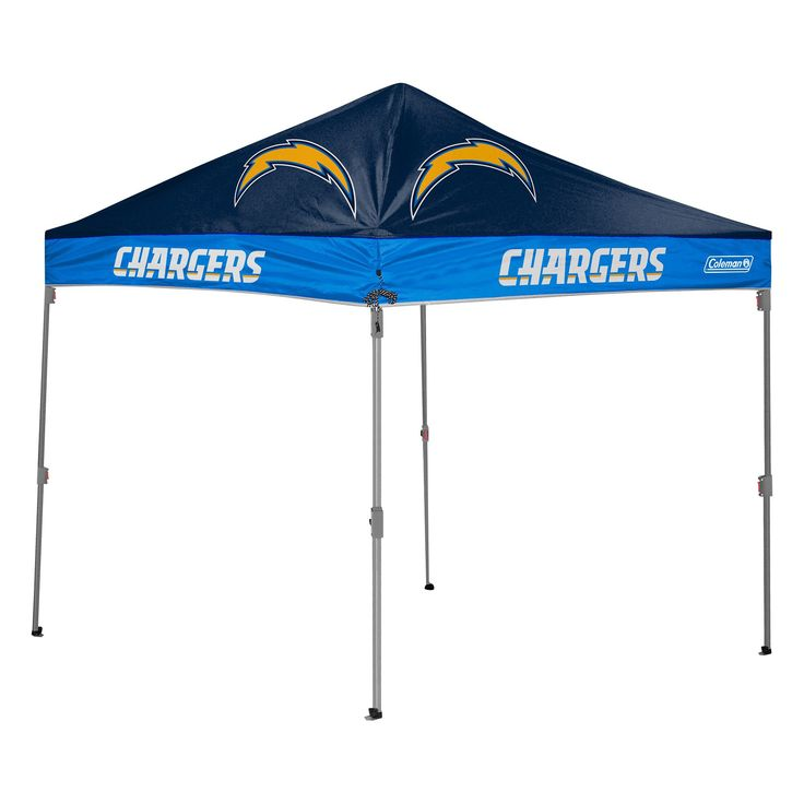 Coleman Los Angeles Chargers Straight Leg Canopy Tent