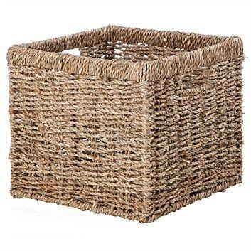 Storage Basket Natural, from $6.99 at Briscoes