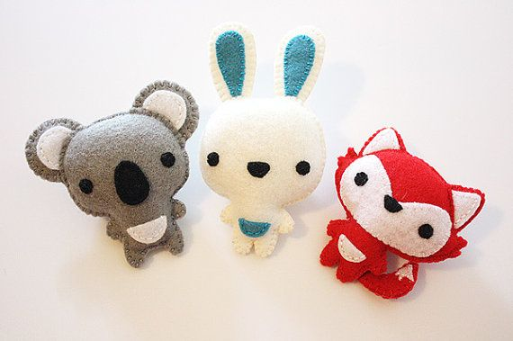Going to try and make these out of my felt collection.