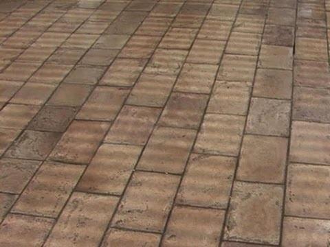 Laying a Stone-Paver Patio