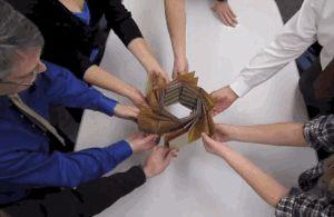 JPL Origami solar panel GIF