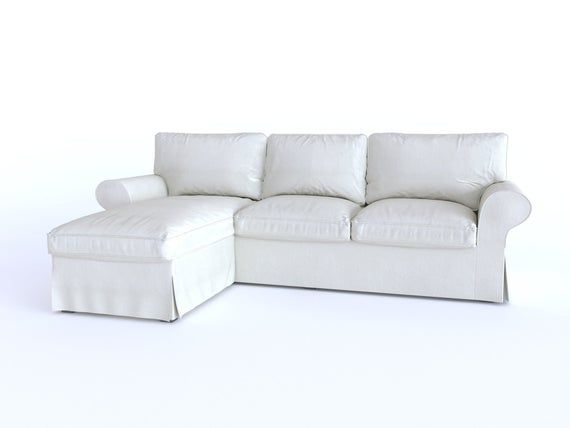 Custom Made Cover Fits Ikea Ektorp Loveseat Sofa With Chaise Etsy In 2020 Sofa Love Seat Loveseat Sofa