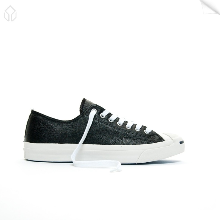 Converse Jack Purcell LTT OX Leather Black