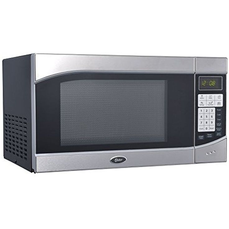 Oster Countertop Microwave Oven LED Digital 0.9 Cubic Feet 900-Watt Defrost    #Oster