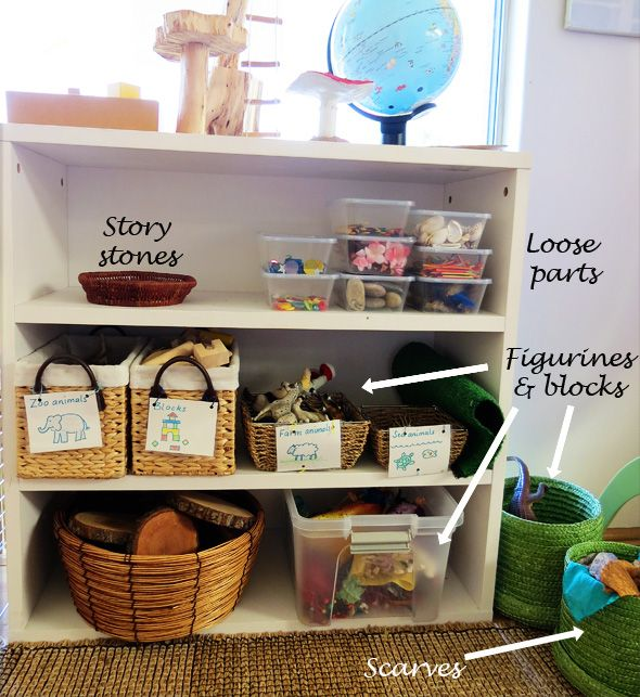 Loose parts for creative play