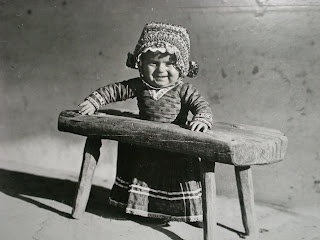 old Hungarian baby stand, Date unknown