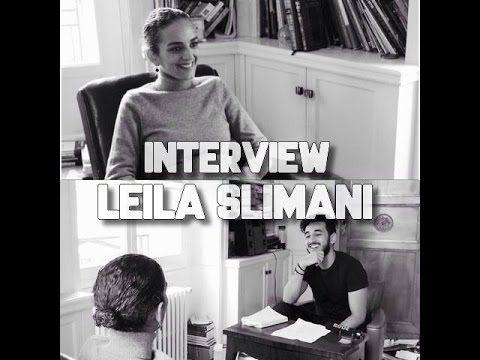 LEILA SLIMANI INTERVIEW (PAR YANIS BEN JELLOUN) - YouTube