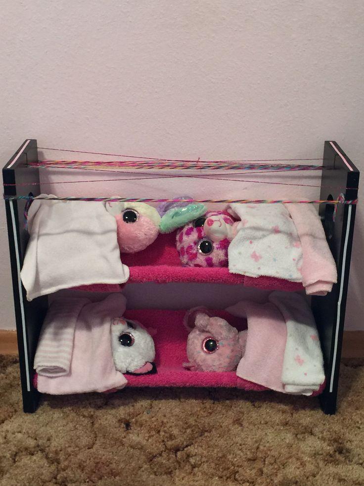 My DIY beanie boo bed