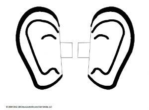Ear and conscious activity