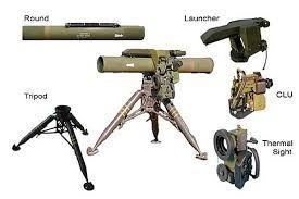 kornet-em anti-tank guided missiles