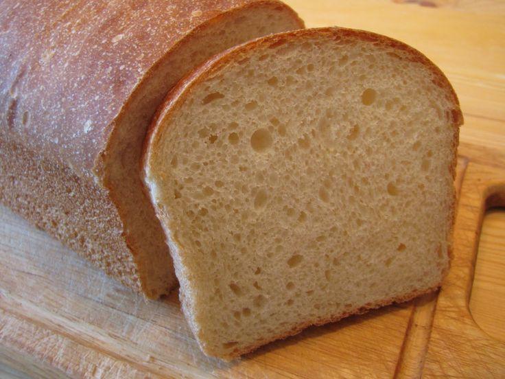 Мягкий хлеб для бутербродов на закваске
