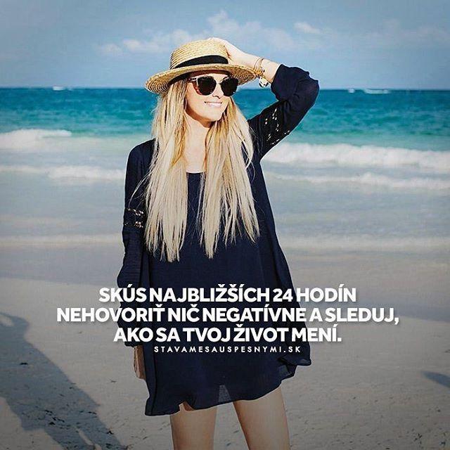 Skús a uvidíš, čo sa stane 😊 WEB NA 👉 @stavamesauspesnymi_sk 👈 #stavamesauspesnymi_sk #úspech #pozitívne #život #myslenie #myseľ #myšlienky #šťastie