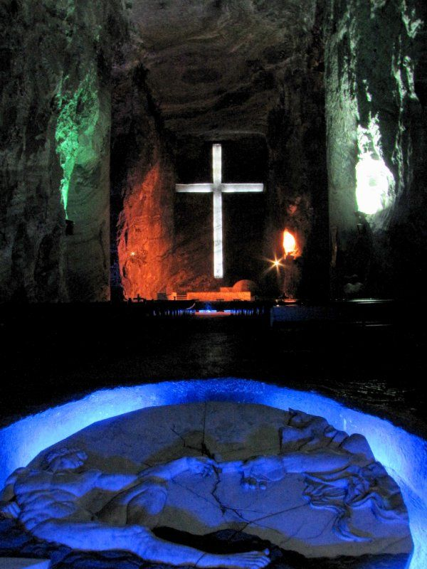 Salt Cathedral in Colombia