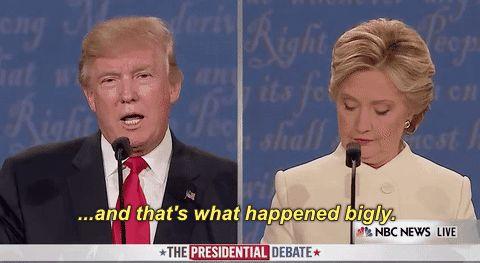 election 2016 presidential debate election debate trending #GIF on #Giphy via #IFTTT http://gph.is/2eiDIJ9