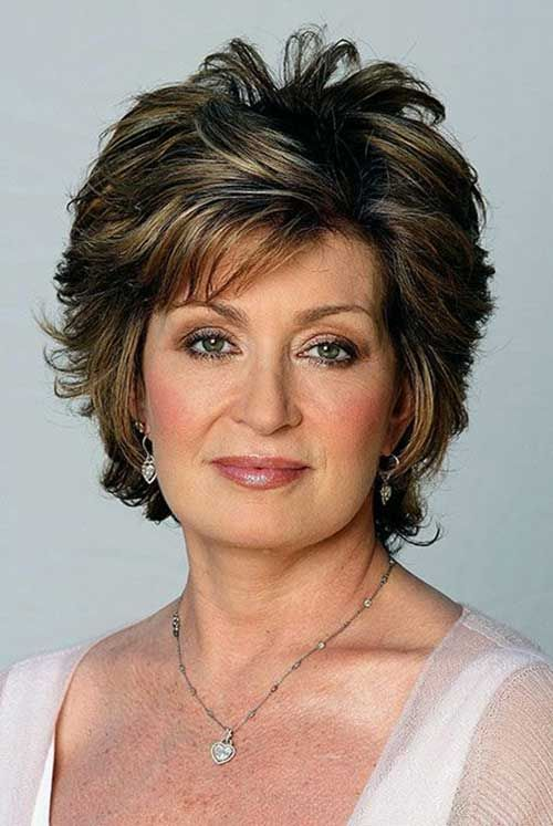 Ladies Hairstyles best Older Women Short Hairstyles