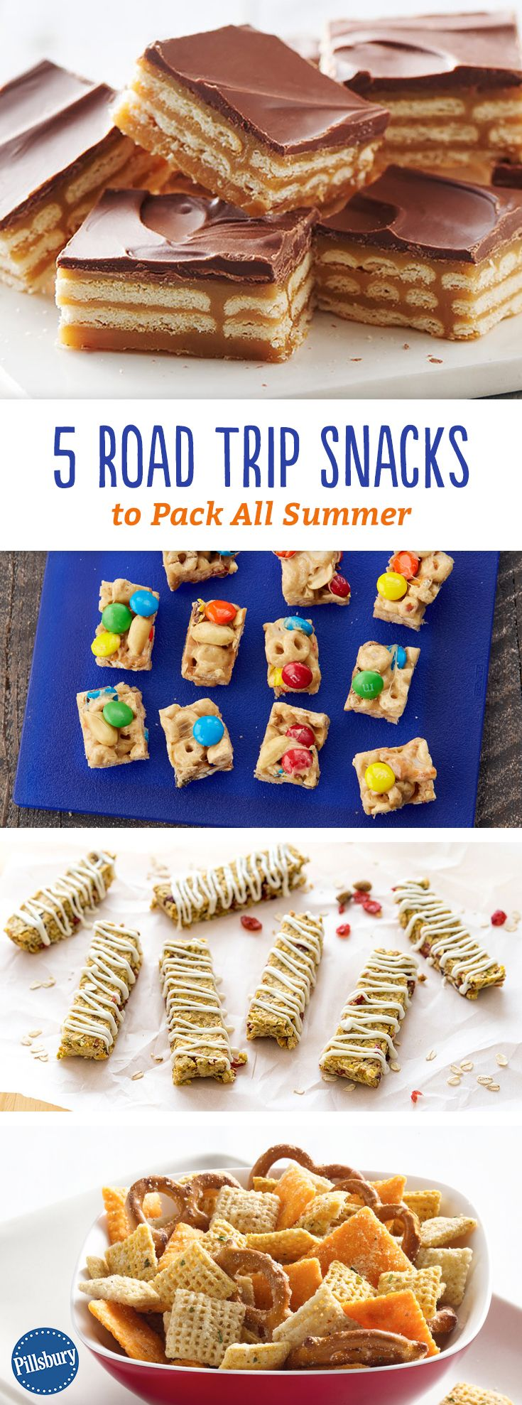 5 Road Trip Snacks to Pack All Summer: Throw these easy snacks in the car and no one will care if you're there yet.