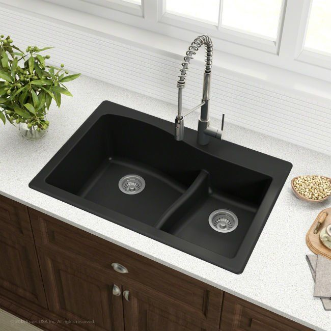Stylish Stain Resistant Or Both Which Type Of Kitchen Sink Is Right For You Best Kitchen Sinks Composite Sinks Composite Kitchen Sinks