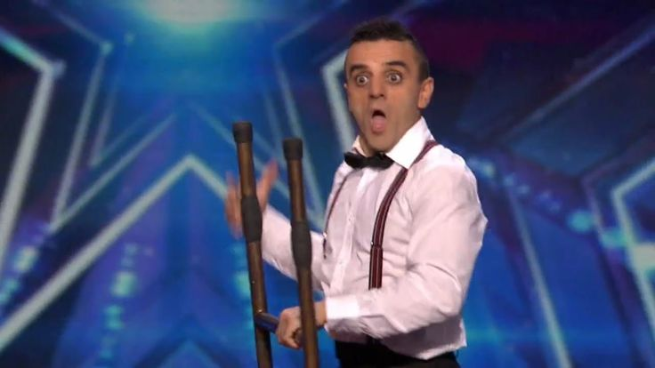 America's Got Talent 2015 S10E04 Uzeyer Novruzov Channels a Charlie Chap...
