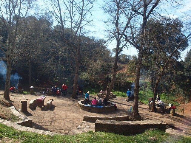 Font del Ferro. Zona de picnic familiar