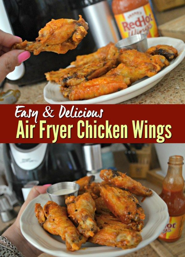 Air Fryer Chicken Wings Air Fryer Oven Recipes Air