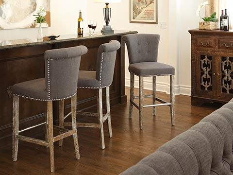 Vincente Barstools From Classic Home. Available At Seldens In Tacoma, WA.  Www.