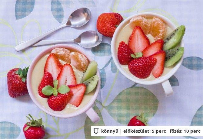 Igazi főzött vaníliapuding