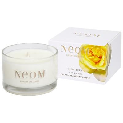 Neom Sumptuous Wild Rose & Neroli Scented Travel Candle