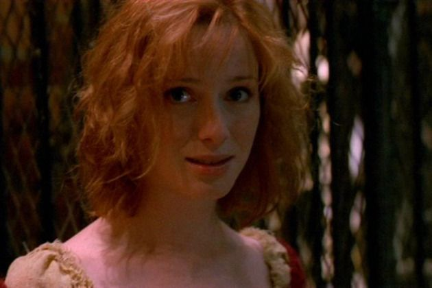 Christina Hendricks as Saffron on Firefly. Our Mrs. Reynolds!