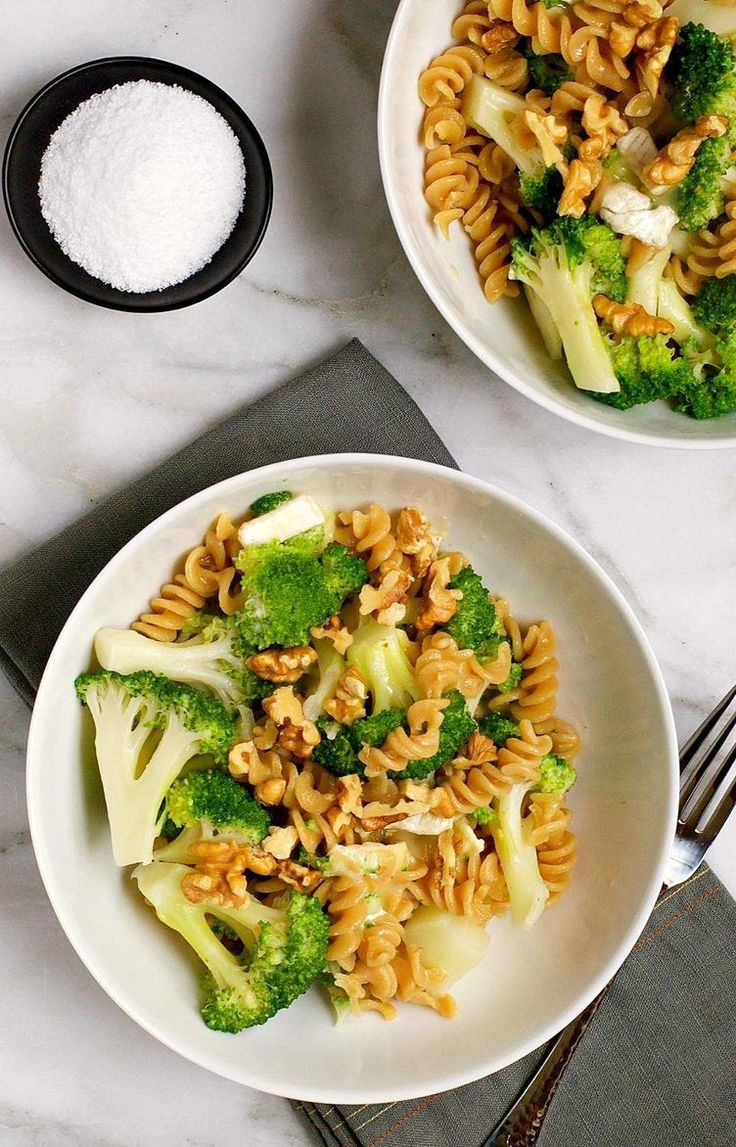 24. Broccoli, Brie, and Walnut Rotini #Greatist http://greatist.com/health/healthy-meals-for-two