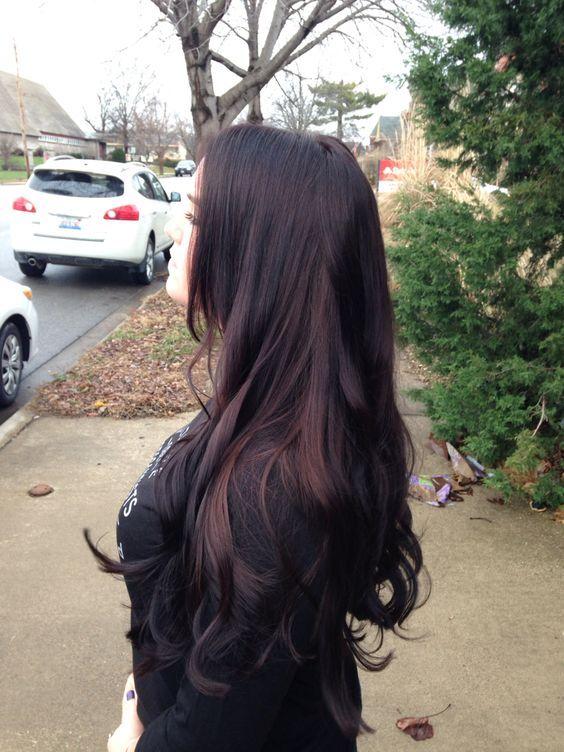 03 brownish black cherry hair - Styleoholic