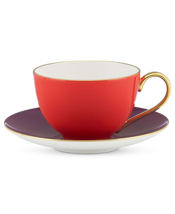 kate spade new york Greenwich Grove Cup and Saucer Set