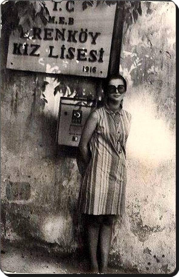 Erenköy Kız Lisesi, 1969 #istanlook