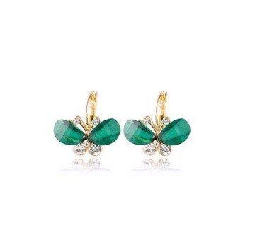 Bow knot wings earrings