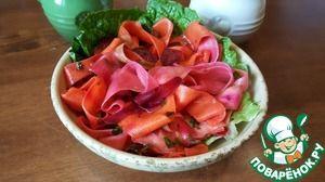 """Салат """"Маринованные овощи"""" за 1.5 часа"""