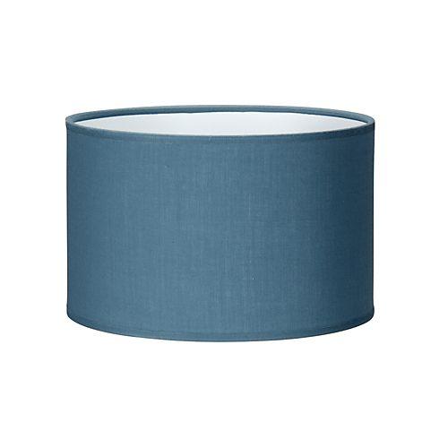 Brume - Abat-jours, Pieds, Câbles-Luminaires Abat-jour ovale bleu D22cm