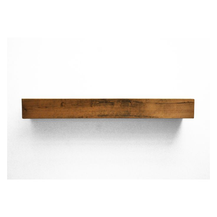 Dogberry Collections Farmhouse Fireplace Mantel Shelf | from hayneedle.com