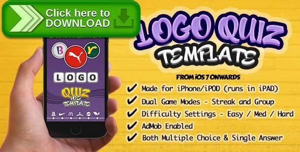 [ThemeForest]Free nulled download Ultimate Logo Quiz Starter Kit for iPhone-iOS from http://zippyfile.download/f.php?id=56248 Tags: ecommerce, games source code ios, ios logo quiz template, logo quiz, logo quiz for ipad ipod, logo quiz iphone source code