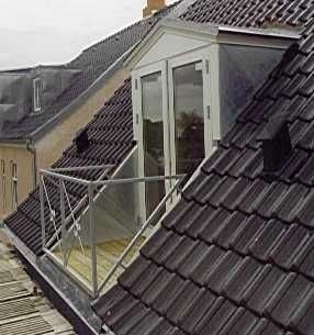 Dormer with a door (pictures) & 11 best Exterior images on Pinterest | Architecture Balconies and ...